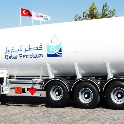 LNG Semi-Trailer Tanks